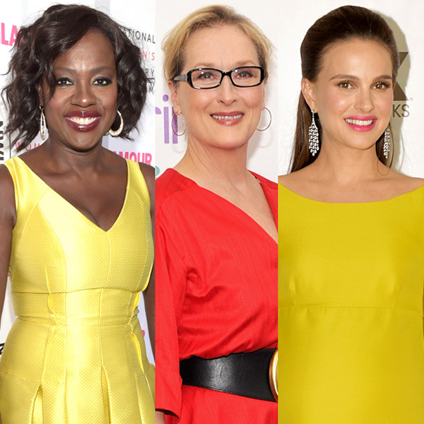 Emma Stone, Viola Davis, Ava Duvernay, Natalie Portman, Meryl Streep
