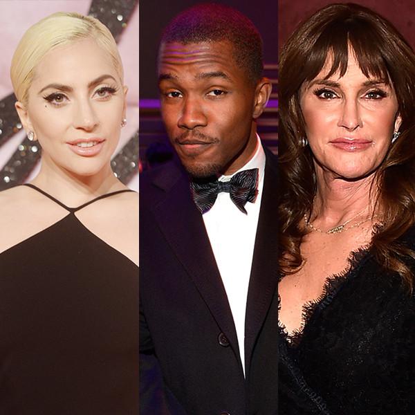Lady Gaga, Frank Ocean, Caitlyn Jenner