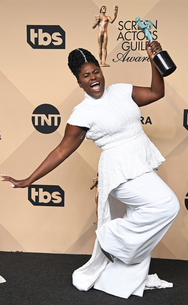 Danielle Brooks, 2017 SAG Awards, Candids