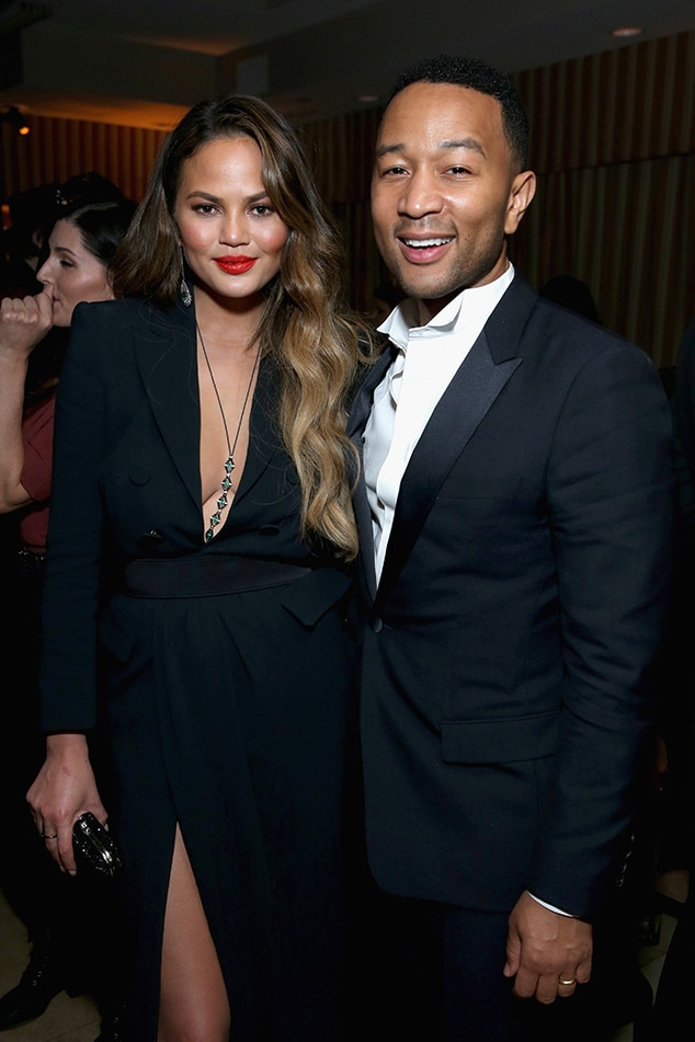 Chrissy Teigen, John Legend, 2017 SAG Awards Party Pics