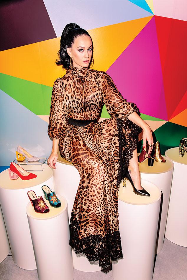 Katy Perry, Footwear News