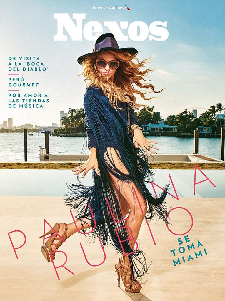 Paulina Rubio, Nexos Magazine
