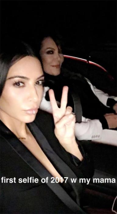 Kim Kardashian, Kris Jenner, Snapchat