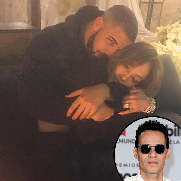 Jennifer Lopez, Drake, Marc Anthony