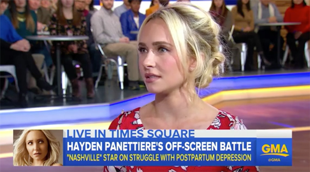 Hayden Panettiere, Good Morning America