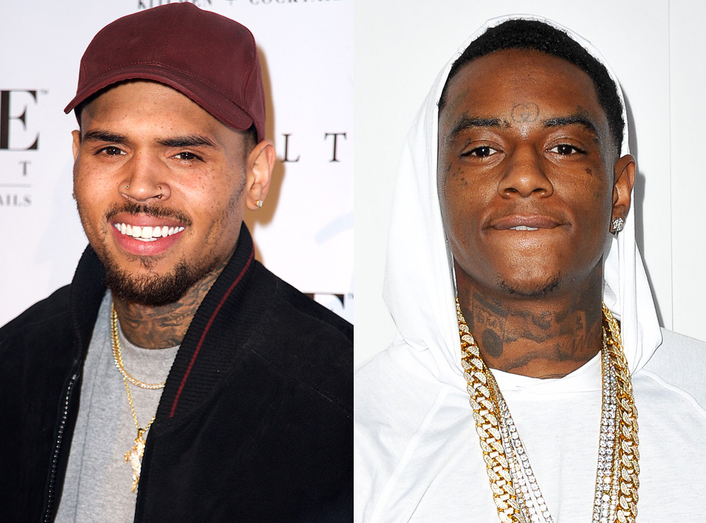 Chris Brown, Soulja Boy