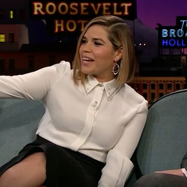 America Ferrera, The Late Late Show