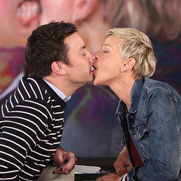 Jimmy Fallon And Ellen Degeneres Share A Hilariously