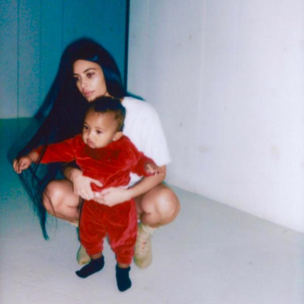 Kim Kardashian Shares Adorable New Family Photos on Social Media