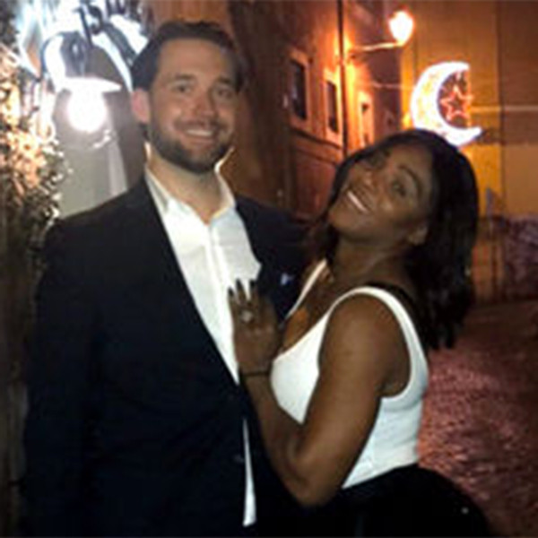 Alex Ohanian, Serena Williams