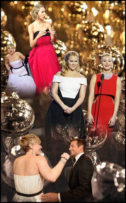 Jennifer Lawrence, Golden Globes