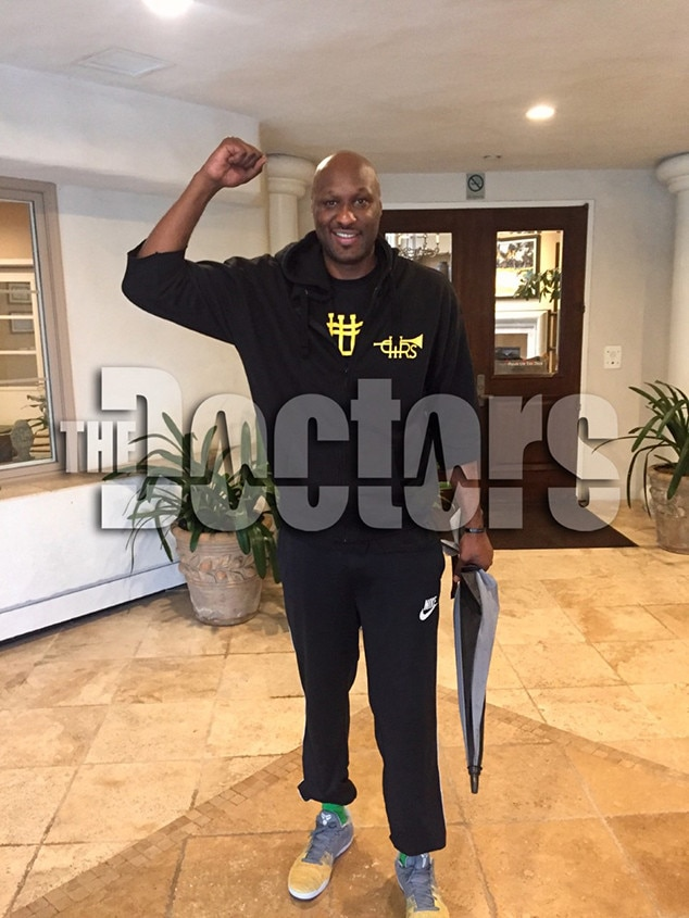 Lamar Odom Is Out Of Rehab And Smiles In First Photo