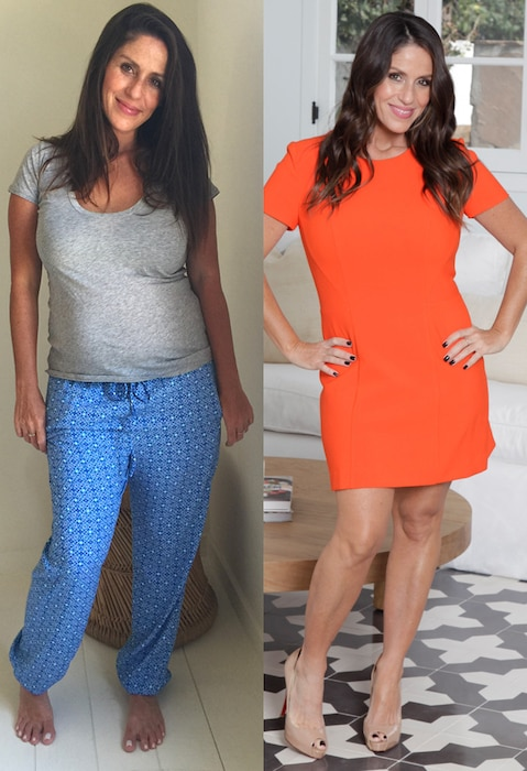 Soleil Moon Frye, Nutrisystem, Before and After