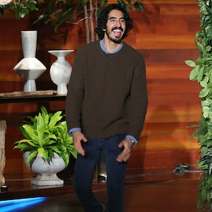 Dev Patel, The Ellen DeGeneres Show