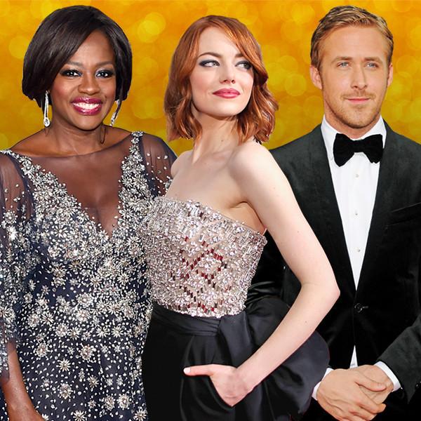 Golden Globes, Viola Davis, Emma Stone, Ryan Gosling, Ryan Reynolds
