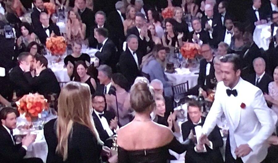 Ryan Reynolds, Andrew Garfield, Golden Globes