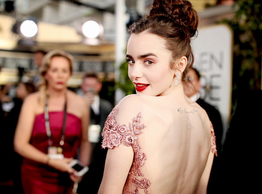 ESC: Best Beauty, Lily Collins