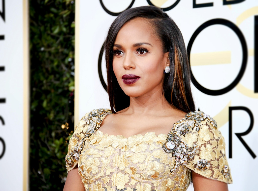 ESC: Best Beauty, Golden Globes 2017, Kerry Washington