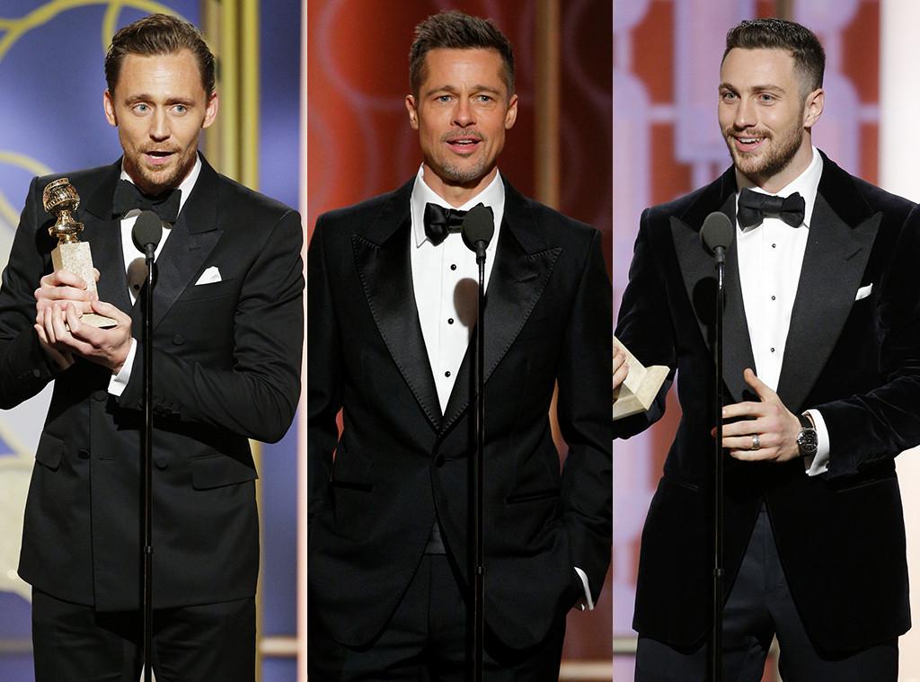 Tom Hiddleston, Brad Pitt, Aaron Taylor-Johnson