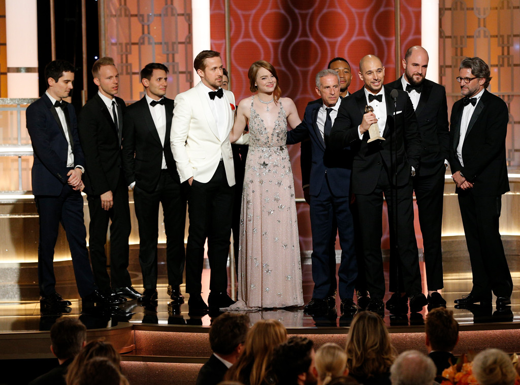 La La Land, 2017 Golden Globes, Winner