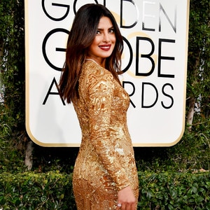 ESC: Priyanka Chopra, 2017 Golden Globes