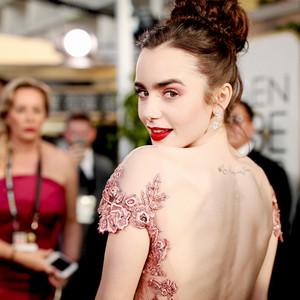 ESC: Best Beauty, Lily Collins