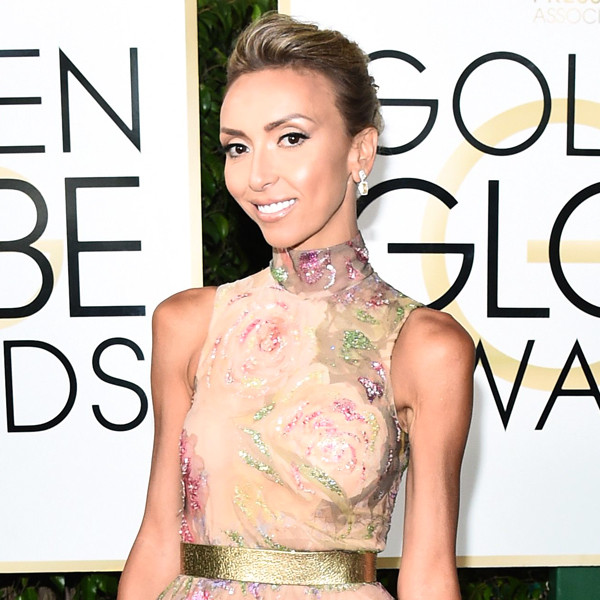 Giuliana Rancic, 2017 Golden Globes