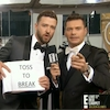 Jessica Biel, Justin Timberlake, Ryan Seacrest, Golden Globes