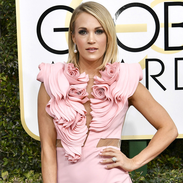 Carrie Underwood, 2017 Golden Globes, Arrivals