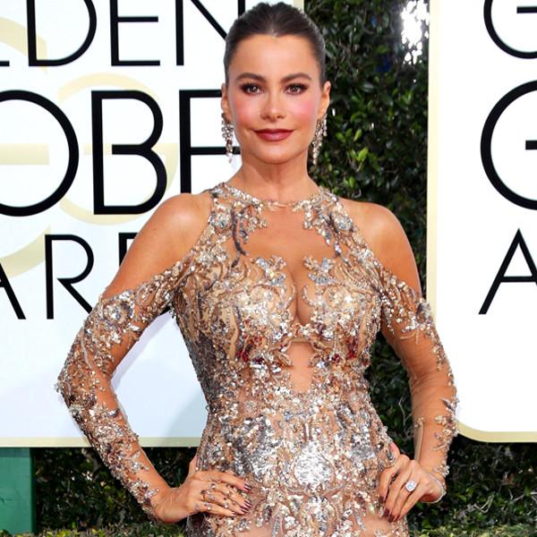 Sofia Vergara, 2017 Golden Globes, Arrivals