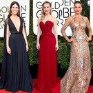 Brie Larson, Sofia Vergara, Mandy Moore, 2017 Golden Globes