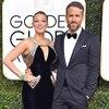 Blake Lively, Ryan Reynolds, 2017 Golden Globes, Couples