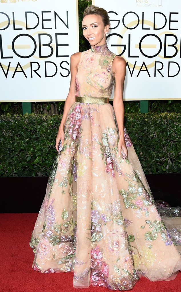 Giuliana Rancic, 74th Annual Golden Globe Awards