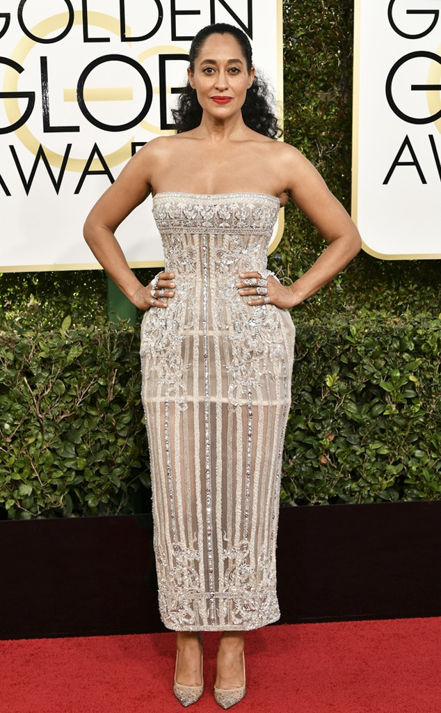 Tracee Ellis Ross, 2017 Golden Globes, Arrivals
