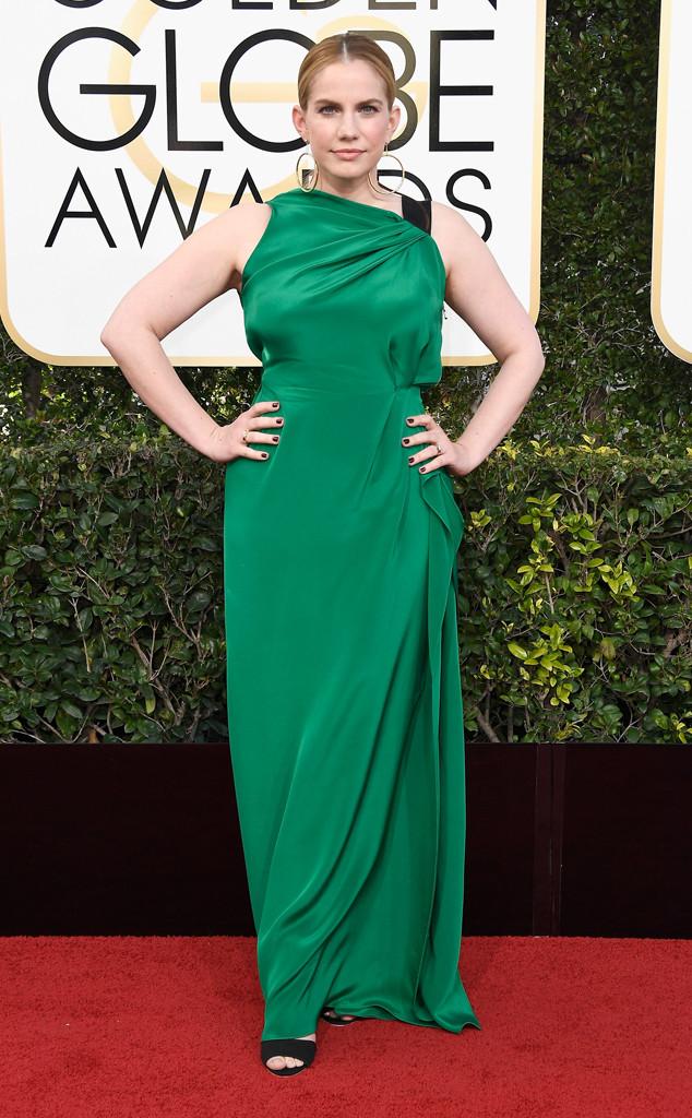 Anna Chlumsky, 2017 Golden Globes, Arrivals