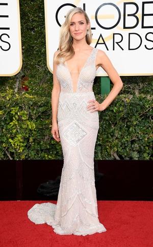 Kristin Cavallari , 2017 Golden Globes, Arrivals