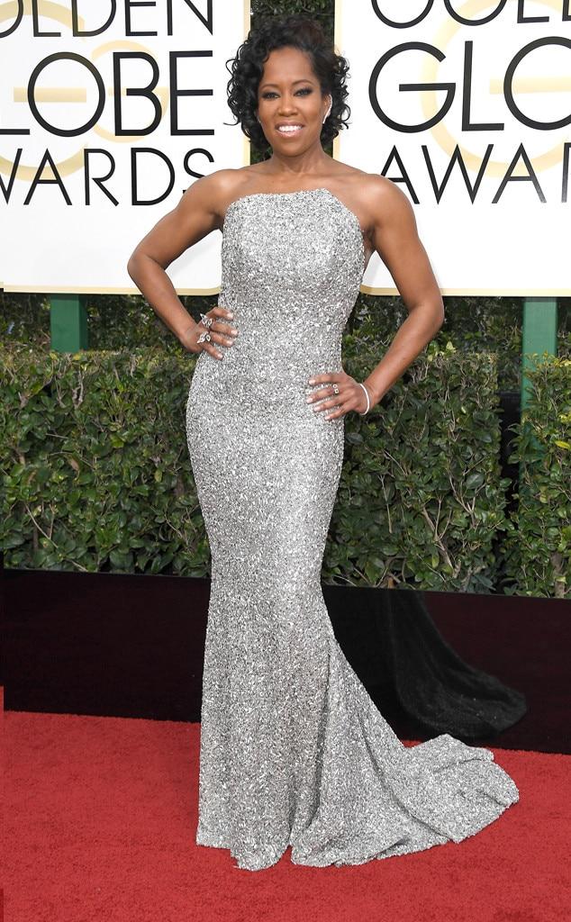 2017 Golden Globes Red Carpet Arrivals Regina King, 2017 Golden Globes, Arrivals