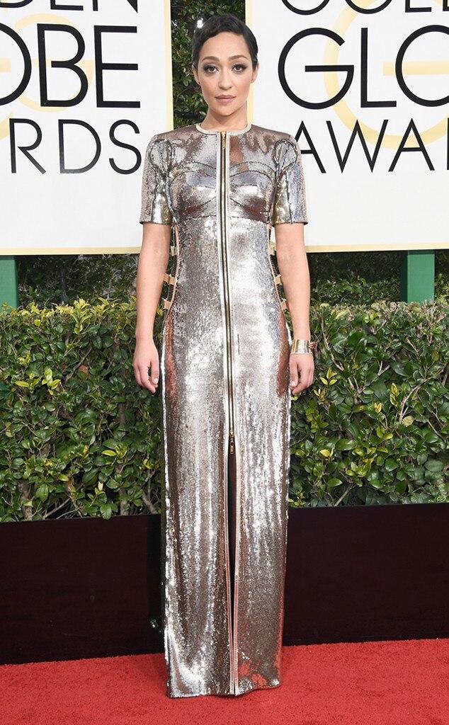Ruth Negga, 2017 Golden Globes, Arrivals