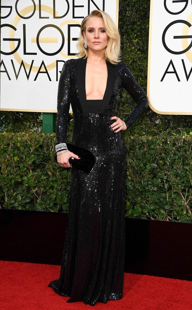 Kristen Bell, 2017 Golden Globes, Arrivals