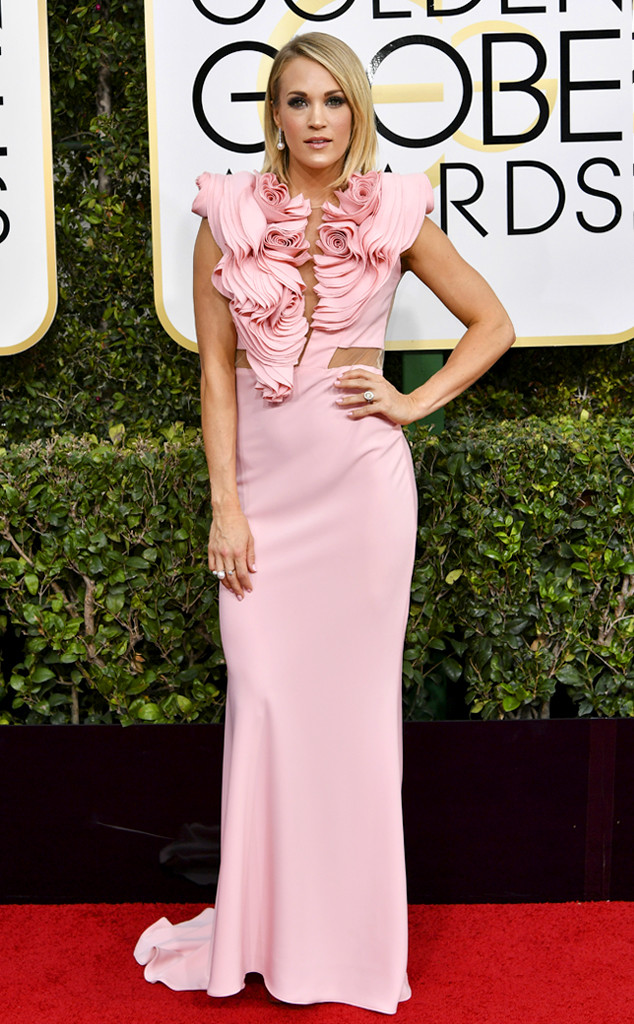 Carrie Underwood, 2017 Golden Globes, Arrivals