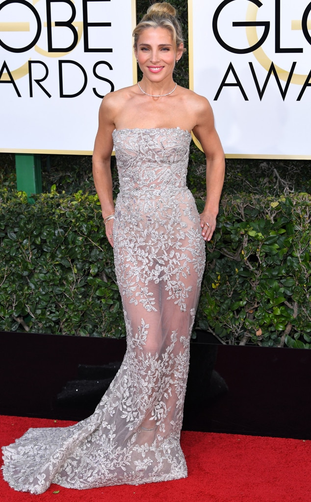 Elsa Pataky, 2017 Golden Globes, Arrivals