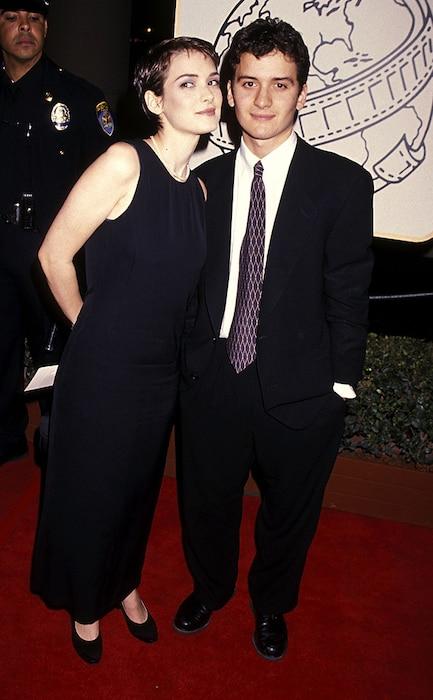 Winona Ryder, Uri Horowitz, 1994 Golden Globes