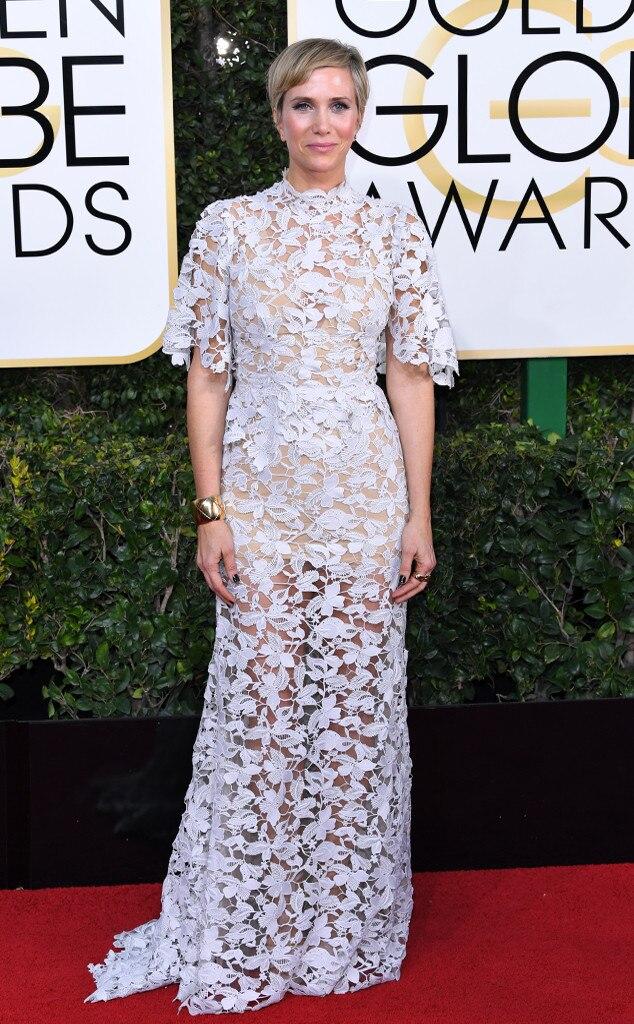 Kristen Wiig, 2017 Golden Globes, Arrivals