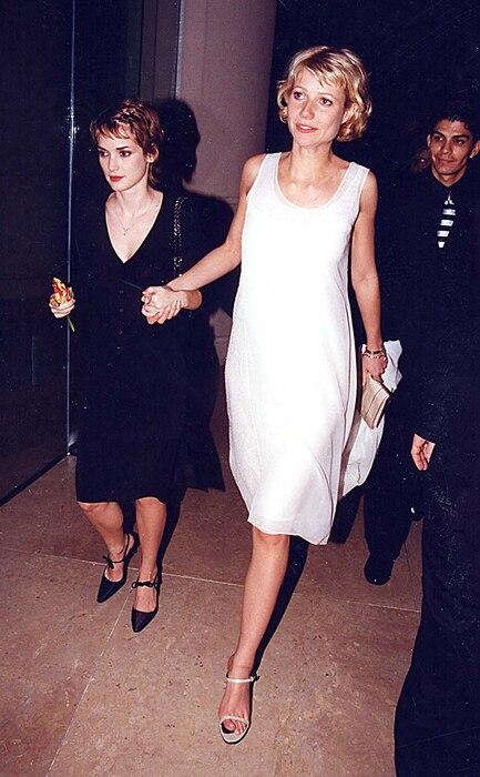 Gwyneth Paltrow, Winona Ryder, 1998 Golden Globes