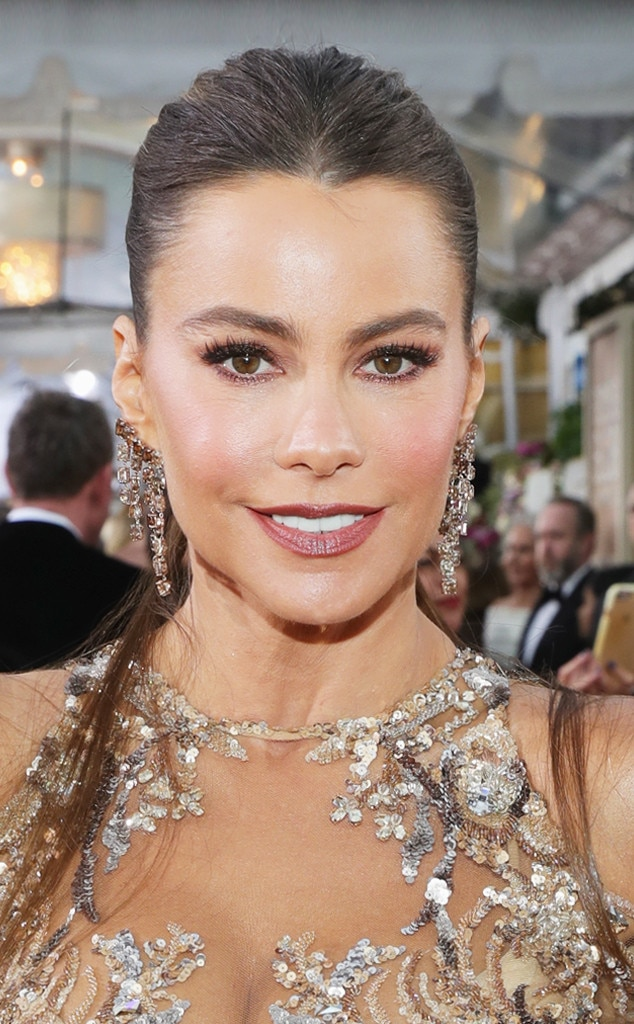 Sofia Vergara Makeup Golden Globes 2017 | The Beauty Vanity