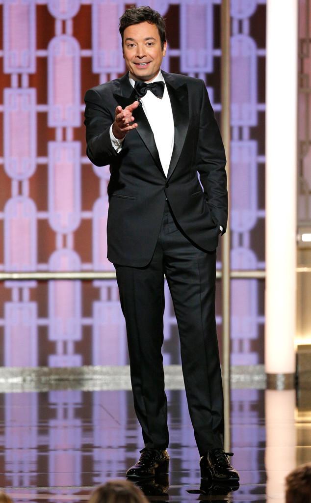 Jimmy Fallon, 2017 Golden Globes, Show