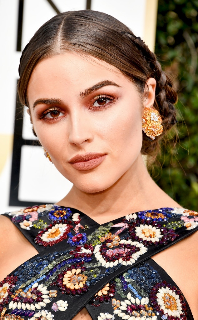 Olivia Culpo Makeup Golden Globes 2017 | The Beauty Vanity