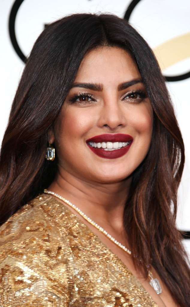 Priyanka Chopra Makeup Golden Globes 2017 | The Beauty Vanity