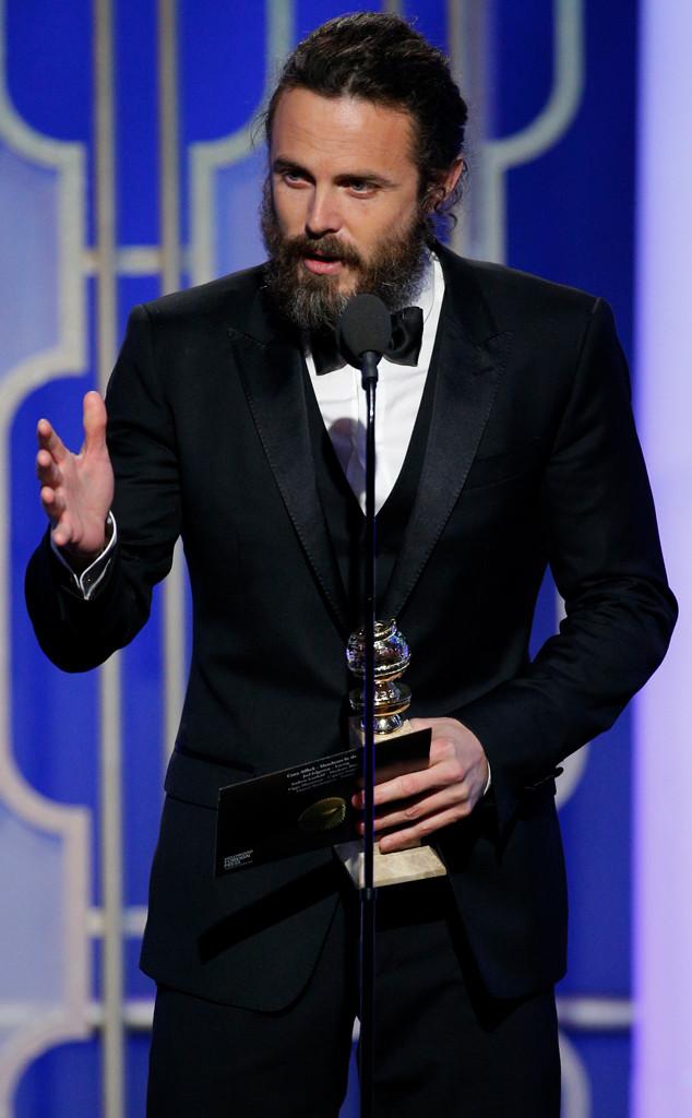 Casey Affleck, 2017 Golden Globes, Winner