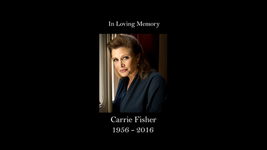 Carrie Fisher, Family Guy Tribute